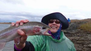Central Otago, Tarns, Rainbowtrout