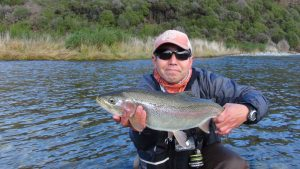 Rainbow, trout, Southern, New Zealand